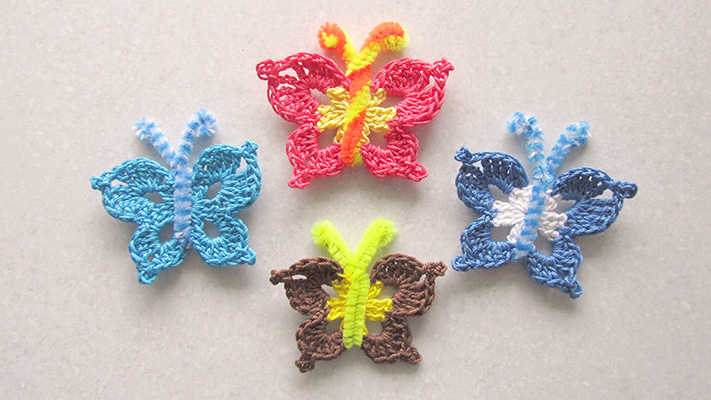 How to Crochet a Butterfly for beginners